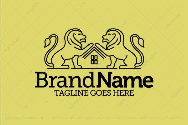 Logo for sale: Lion Estate Logo