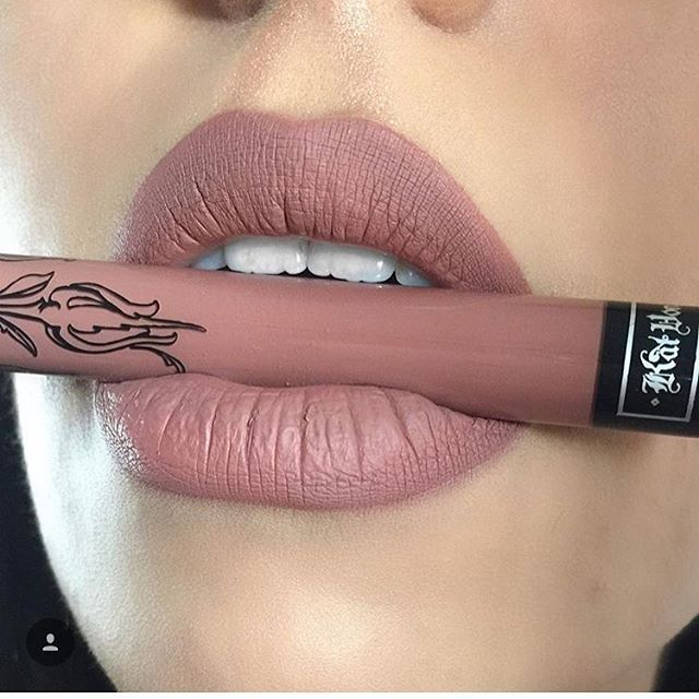 Kat von D Everlasting Love Liquid Lipstick :: BOW N ARROW Pinterest: hayligaines