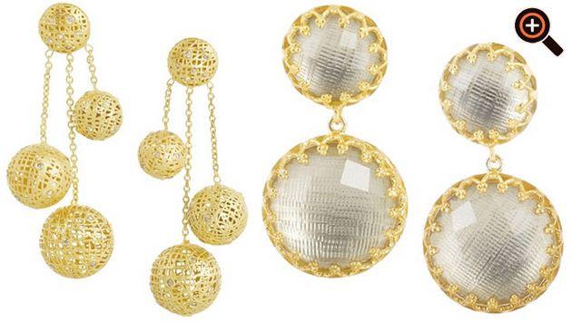 Ohrringe gold & silber von Michael Kors, Chanel, Thomas Sabo, YSL, Dior, DKNY