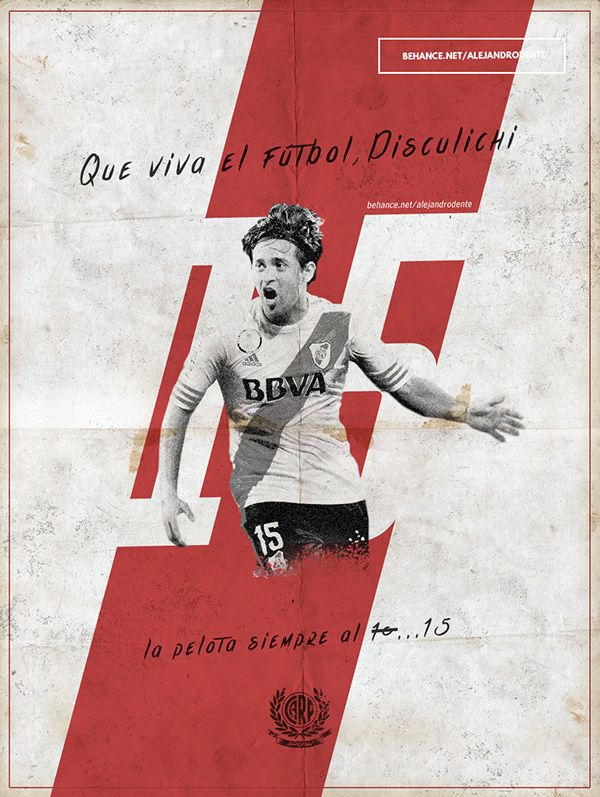 River Plate posters / afiches on Behance