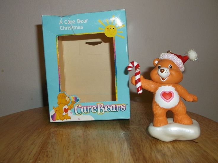 American Greeting Christmas Ornaments Part - 17: A Care Bear Christmas Tender Heart Ornament 2003 American Greetings