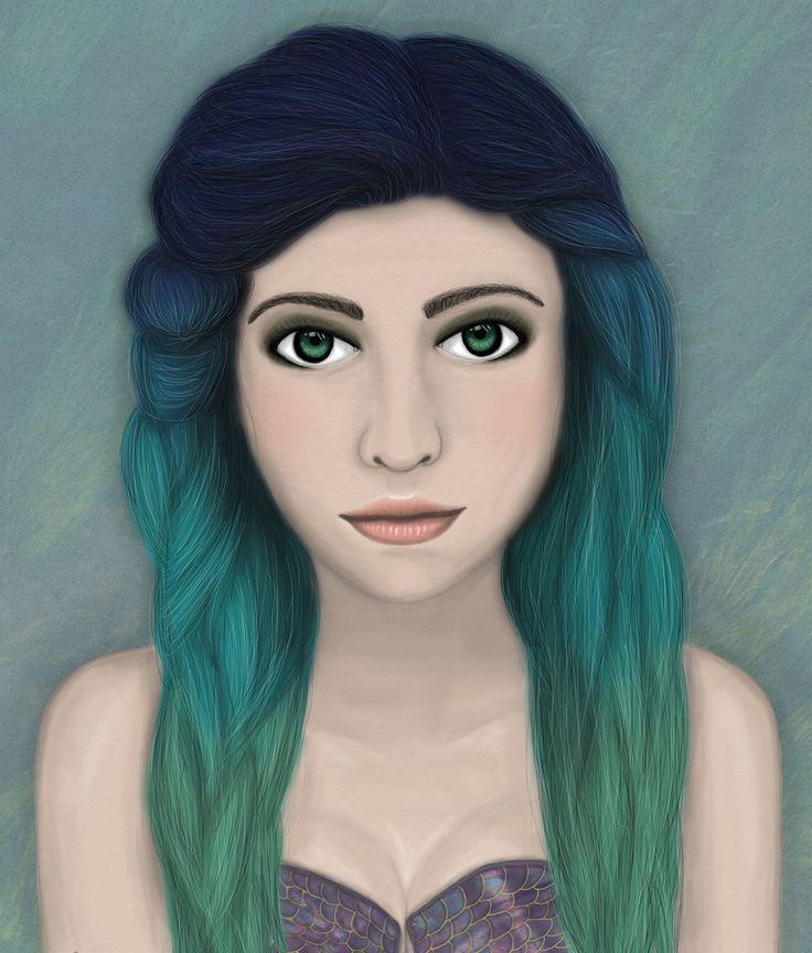 Mermaid by Sylvie Tunez