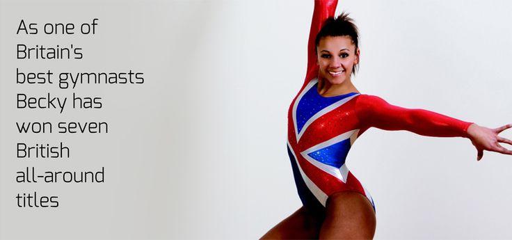 Becky Downie, British Artistic Gymnast