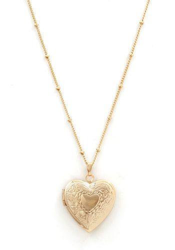 Be Still My Locket Necklace | Mod Retro Vintage Necklaces | ModCloth.com
