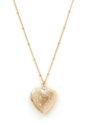 Be Still My Locket Necklace, #ModCloth