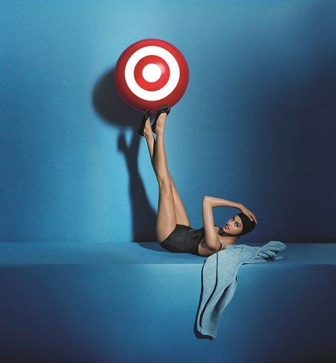 TargetStyle in Vogue: Tim Walker Shoots Candice Huffine, Edie Campbell, and Karen Elson in Target Ads Inspired by Iconic Vogue Photographs | The Terrier and Lobster