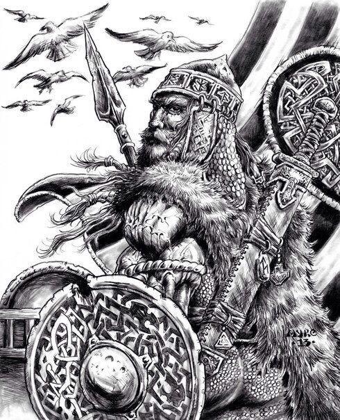 11 best carolingian dynasty images on pinterest for Saxon warrior tattoos