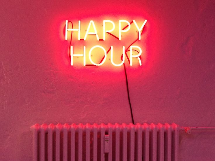 Happy Hour Neon 2013 By Artists Douglas Gordon