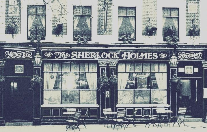 #London #UK #SherlockHolmes #pub