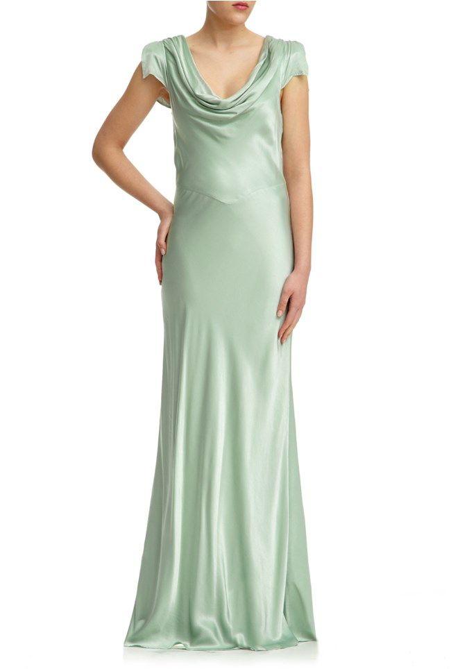 9c9de9efb24c8 GHOST Sylvia Dress Dusty Green   mother of the groom !!! in 2019 ...