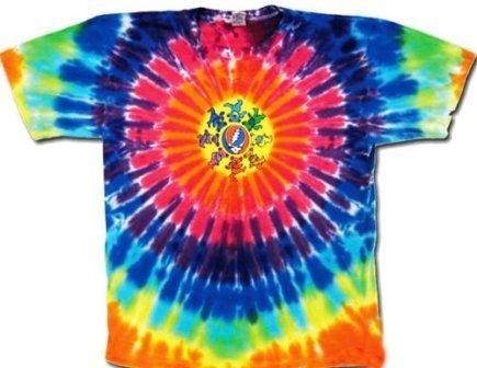 $23.99 - Grateful Dead - Circle of Dancing Bears Youth Tie Dye T-Shirt