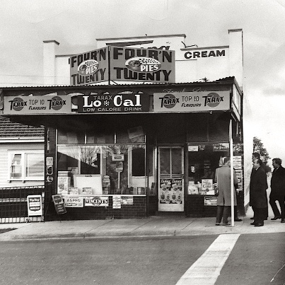 Milk bars - my family even owned one.  Miss them to this day.