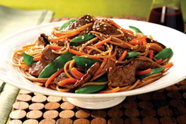 Asian Beef And Noodle 80