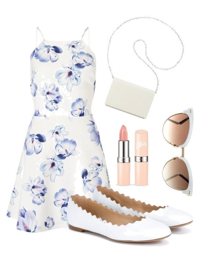 """""""Summer Formal Outfit"""" by klaraelyse on Polyvore featuring Lipsy, Chloé, Nine West and Gucci"""