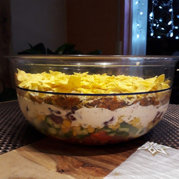 Taco - Salat, ein raffiniertes Rezept aus der Kategorie Raffiniert & preiswert. Bewertungen: 198. Durchschnitt: Ø 4,7.