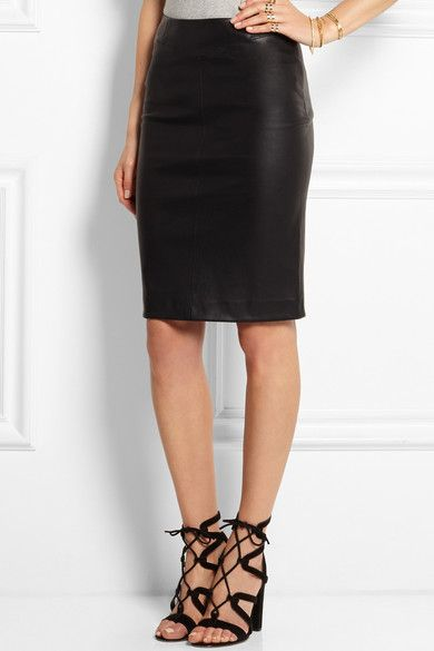 Joseph - Claire Leather Pencil Skirt - SALE20 at Checkout for an extra 20% off