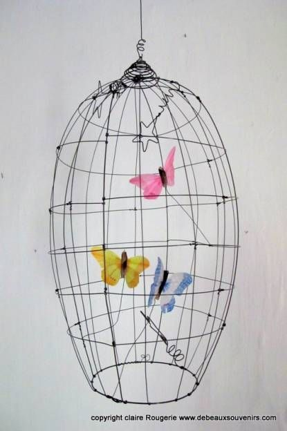 mommo design: WIRE DECOR - cage
