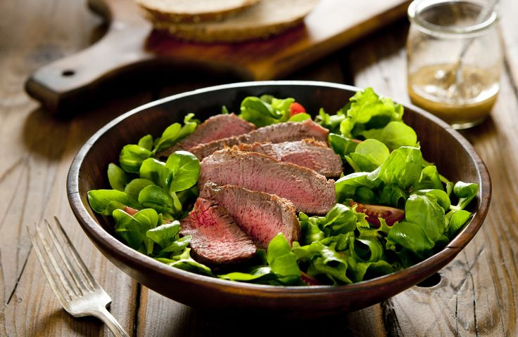 Add more arugula and basil into your life with this summer steak salad. You can…