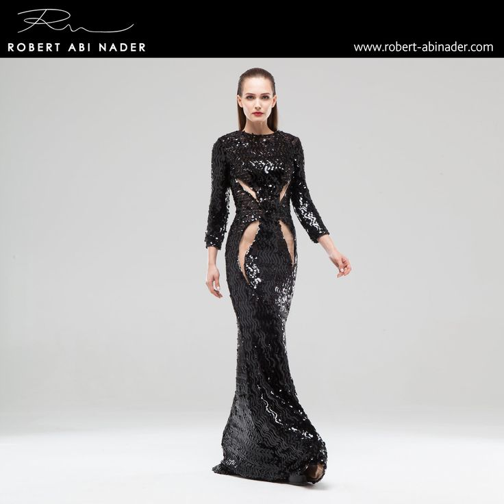 Robert Abi Nader - Ready to Wear - Spring Summer 2015 #robertabinader #black #fashion #skin #hair #glam #lebanon #style #model #heels #fashionista #paris #london #girls #design #attitude #stylish #love #TagsForLikes #todayimwearing #instastyle #springsummer