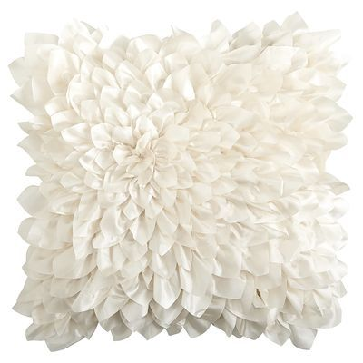 Floral Bloom Pillow - Ivory from Pier 1 imports