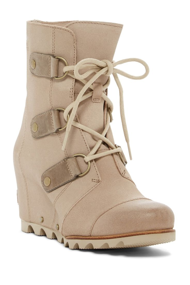 Joan Of Arctic Waterproof Mid Platform Wedge Boot by Sorel on @nordstrom_rack