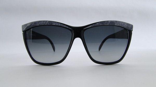 Piave 309 Black/Grey Sunglasses, #Vintage, #eyewear, #piave, #occhiali,