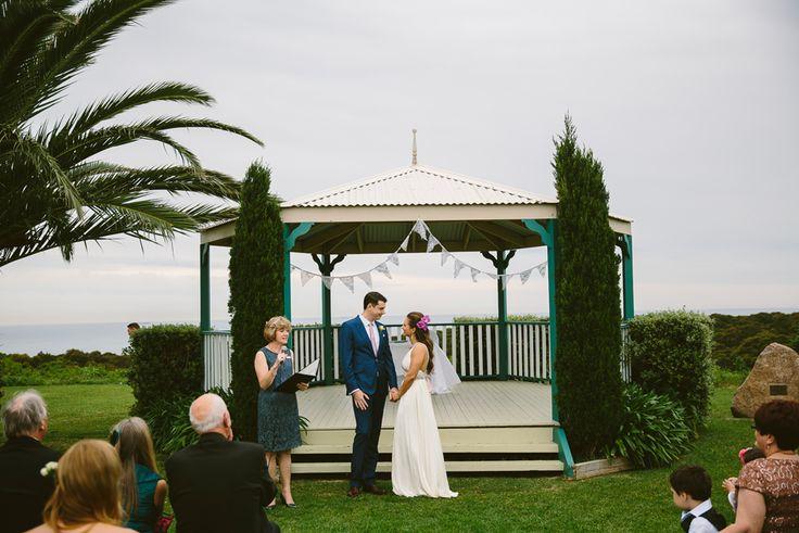 Wedding ceremony location Burwood Rotunda Newcastle. Image: Cavanagh Photography http://cavanaghphotography.com.au