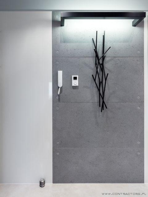 Płyty betonowe apartament Rzeszów CONTRACTORS :: płyty betonowe, podłogi betonowe, beton architektoniczny, beton na scianę