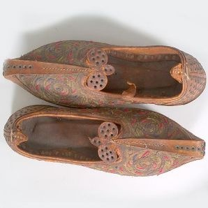 georgious ancient Persian shoes