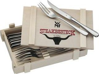 WMF Steakbesteck 12-teilig in Holzkiste für 26€ *UPDATE2*