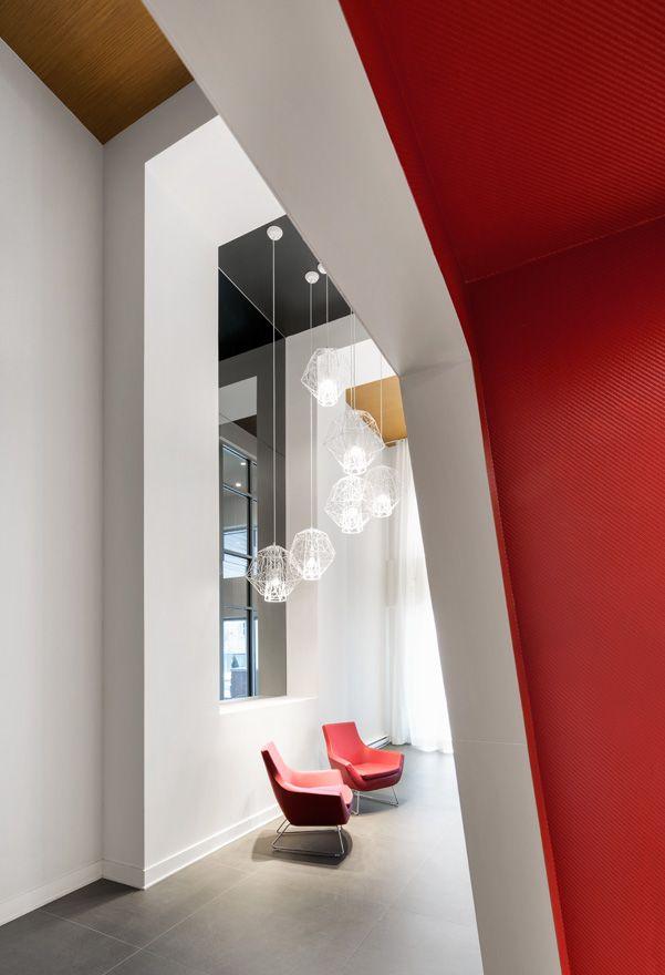 Design condos Hall Lobby Projet Cité Cosmo   ADESIGN