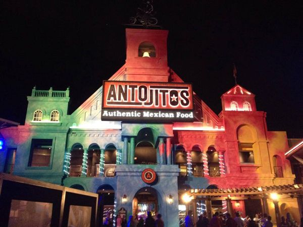 Antojitos Mexican Restaurant at Universal Orlando CityWalk