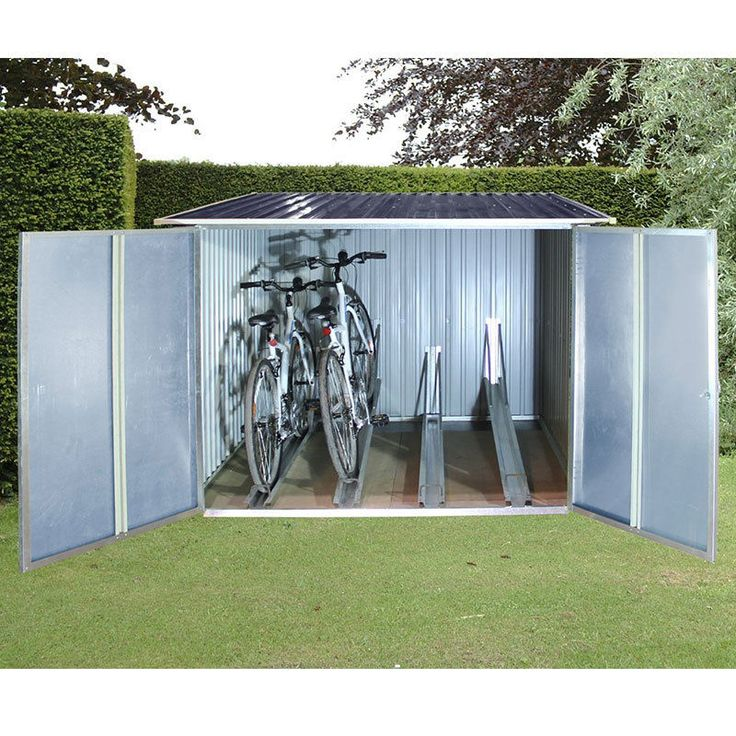 17 best bike sheds images on pinterest indoor bike for Casetas para guardar bicicletas