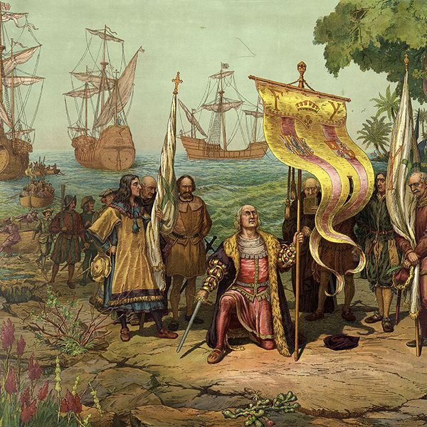a brief history of christopher columbus and the native americans The effects of christopher columbus in 1492, christopher columbus landed in the new world the native americans lives were altered through the introduction of the columbian exchange american history i christopher columbus' voyage to north america spanish exploration first began with a series of revolutions first.