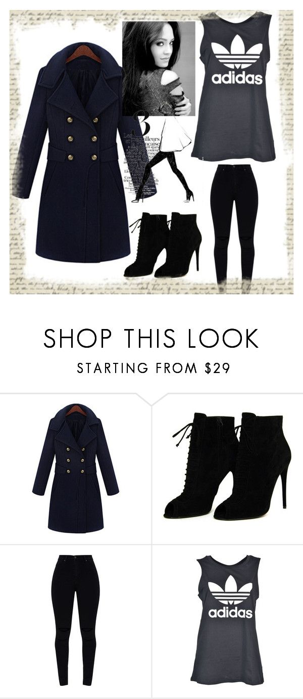 """Sarah  Salvatore-Go to Work"" by letyswanmillsjones on Polyvore featuring moda, Tom Ford, adidas e Garance Doré"