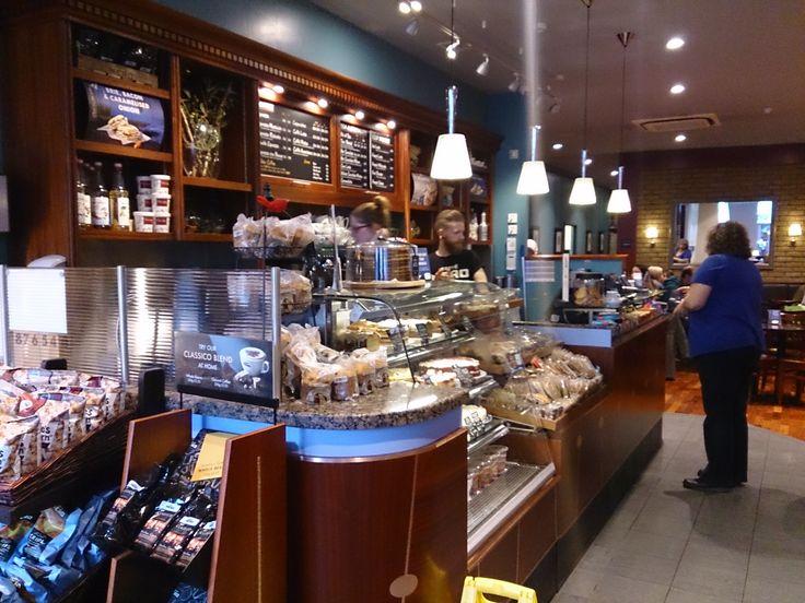 Caffe nero coffee shop visual research good ideas