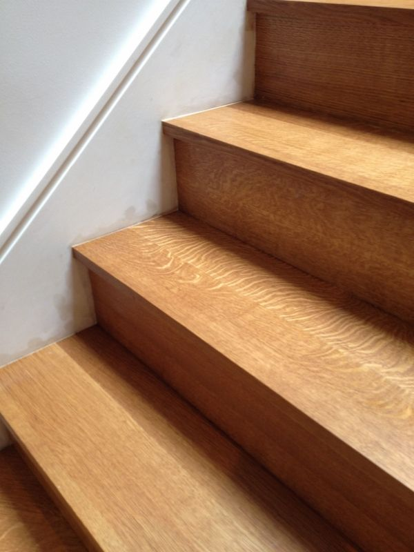 Rift And Quarter Sawn Select White Oak Staircase Nice