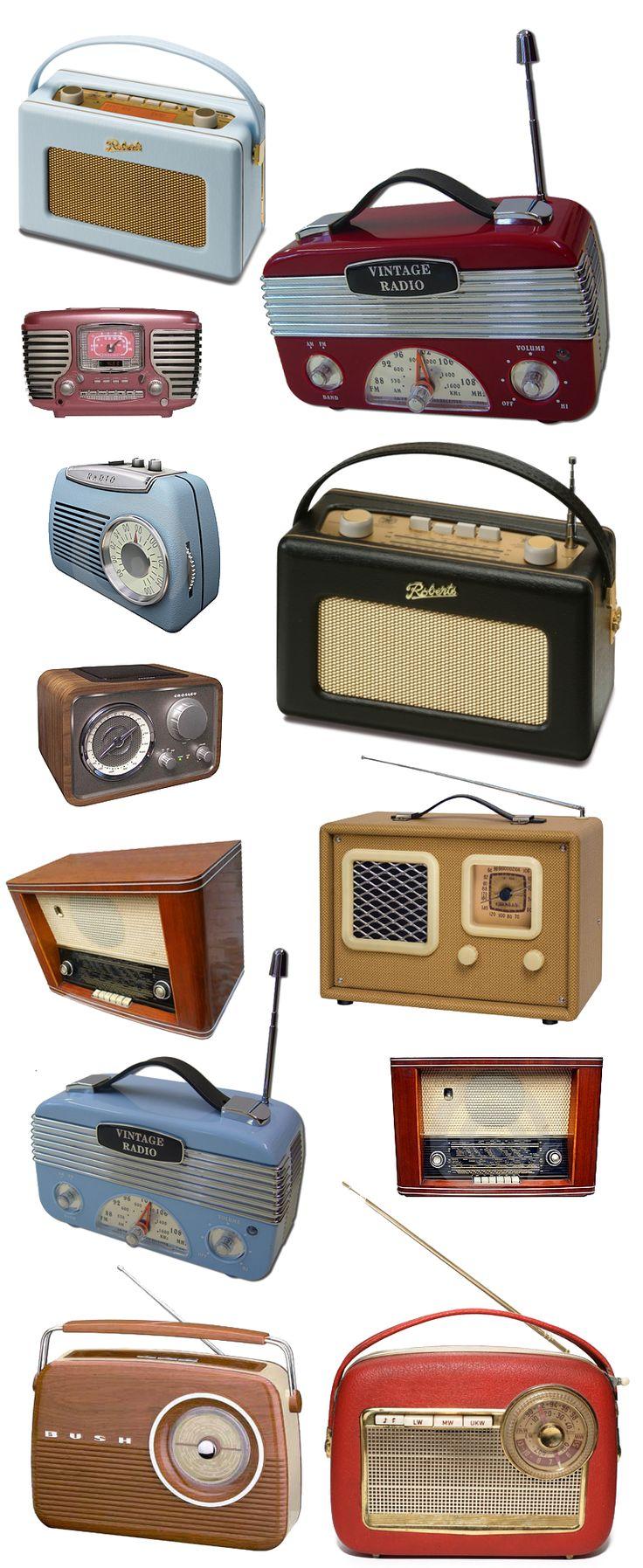 Retro radio by ~simplyuse on deviantART
