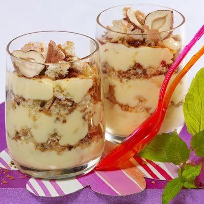 Crème tiramisu au pralin
