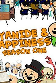 Cyanide And Happiness Show Youtube. Based on the ever popular shorts and comics comes the Cyanide and Happiness show! Featuring the zany antics of everyday people. If its a seatbelt ordering someone to shoot another or a hot dog making alien robot they've got it!