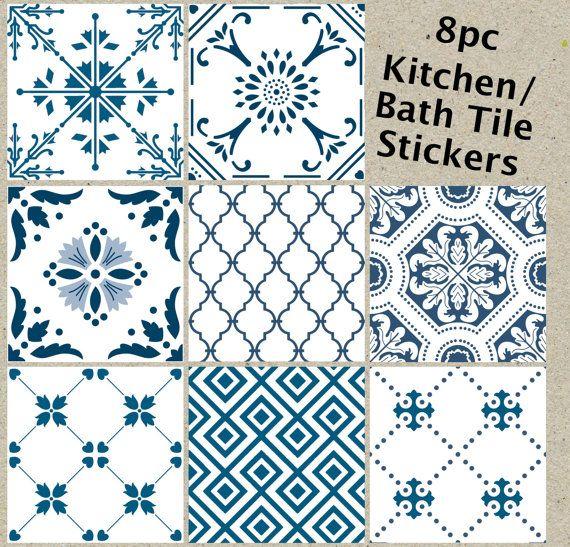 die besten 25 bathroom tile stickers ideen auf pinterest. Black Bedroom Furniture Sets. Home Design Ideas