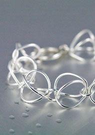 Silverarmband | Armband i silver från Liselotte Klingener Silversmycken & Design | Handgjorda smycken i silver med tidlös design, halsband, armband, ringar, örhängen m.m.