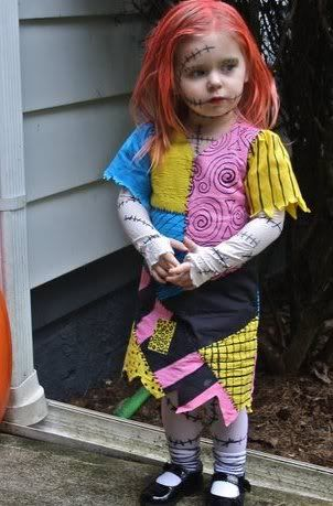 Toddler size Sally Costume (Nightmare Before Christmas) - OCCASIONS AND HOLIDAYS