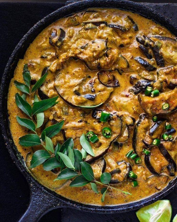 Coconut Eggplant Curry By Yummyyatra And Vegangotgame Yummy Food Recipes Recipes Eggplant Dishes Eggplant Curry