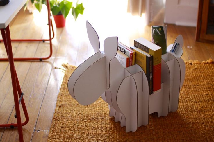 Móveis lúdicos de papelão são para adultos nostálgicos - eMobile