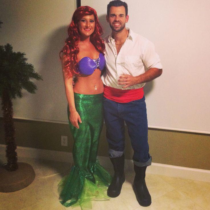 Ariel and Prince Eric costume halloween 2014