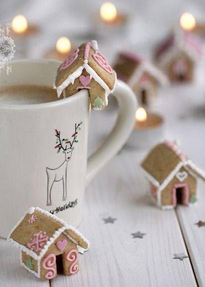 Biscuits décoration de tasse