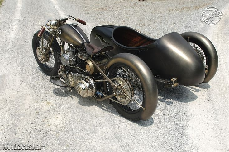 Great fenders.  Union Harley Davidson Sidecar