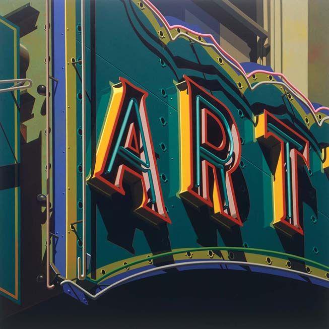 ART sign | Cow House Studios, Ireland