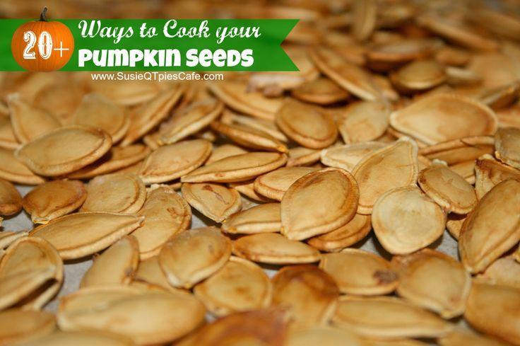 20  Ways to Cook your Pumpkin Seeds